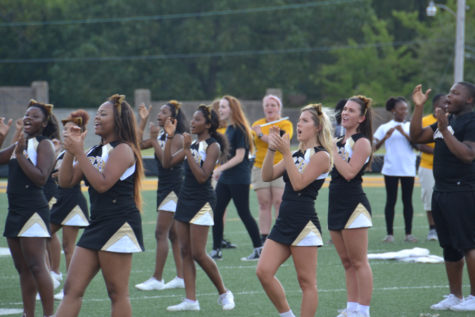 Pep Rally Hypes Up Students for Home Game