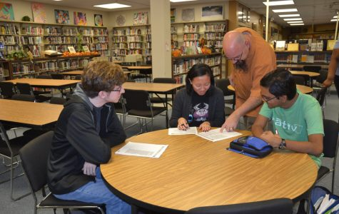 Photo of the Week: PSAT Prepping