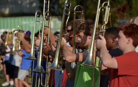 Marching Band, Flag Line To Take Off For Hawaii
