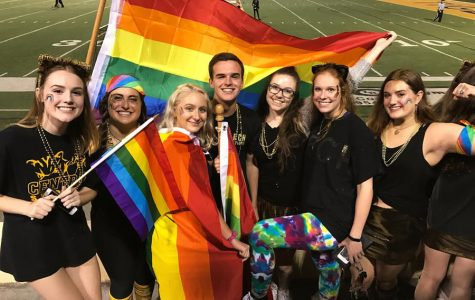 Taste The Rainbow: Students Protest At Central vs. Catholic Game