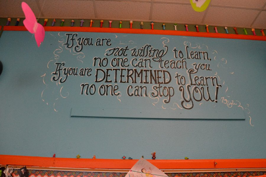 Beautification Club Spruces Up Classrooms