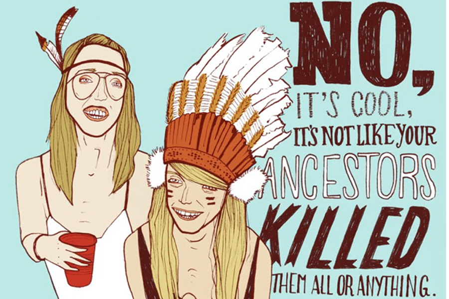 From wearing Native American head dresses to Black Face, cultural appropriation runs rampant on this night of tricks and treats.