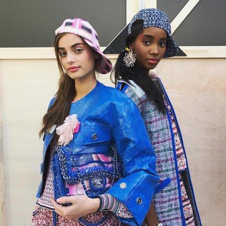 Models for Chanel.