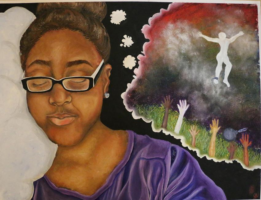 2016 graduate Jordan Nashs 2015-2016 Reflections entry in visual arts, Dream, Dream, received one of four National Awards of Excellence. Jordan tied for 1st for the school and received a 1st place award at the Arkansas PTA.