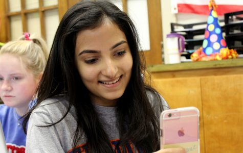Junior Aashna Farishta enjoys spending her free time on instagram- (Finsta)gram, that is- posting funny memes and pictures for only her closest friends to see.