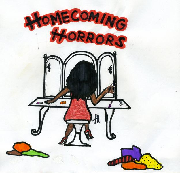 In a hitch: Students often find that the fun of homecoming is reduced by the stress that comes with planning for it.