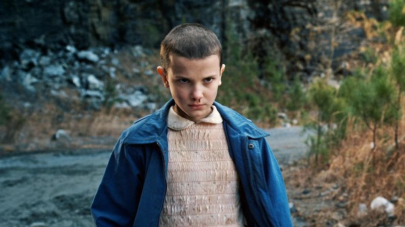 Eleven, the quiet, intense little girl who suddenly appeared in the lives of three confused pre-teen boys, has a few tricks up her sleeve (including some rad super powers).