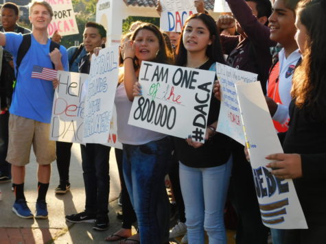 Central Students Hold DACA Protest
