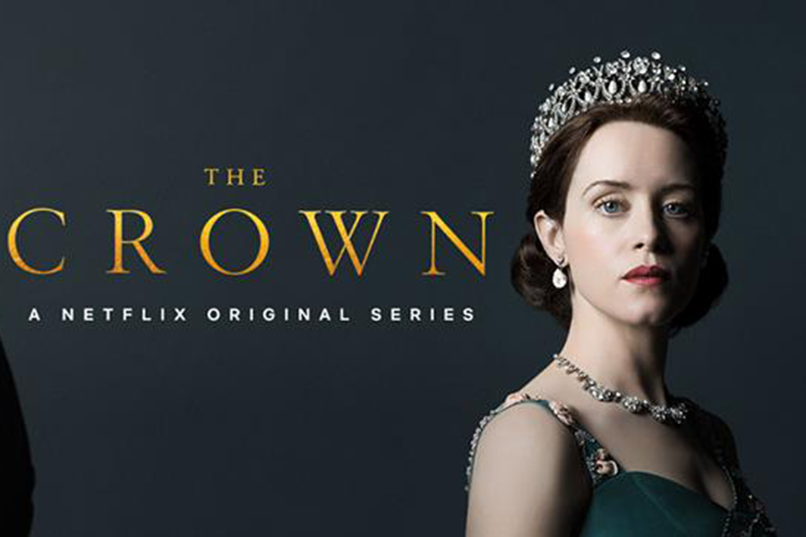 Differing from the season on poster that featured only Foy, Claire Foy and Matt Smith as Elizabeth II and Prince Philip respectively are depicted in their full regalia on the season two poster. Foy gives the camera a head on, steely gaze reflecting her character's new found strength and confidence in the role of Queen after having to assimilate to the role unexpectedly after the death of her father in season one. This will be the last season with both Foy and Smith in the main title roles. Netflix has planned a full recasting to reflect the age of the Queen and Prince in season three. Casting is still in process, but Broadchurch actress Olivia Coleman has been announced as taking of the monarchal role from Foy for seasons three and four.  (Photo courtesy of Netflix)