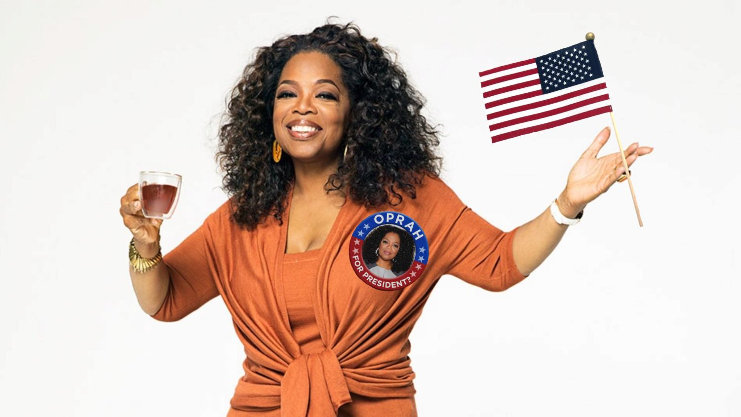 Can we expect this in coming years? Oprah, has considered entering the 2020 presidential race. (Photo by Mary Silzer)
