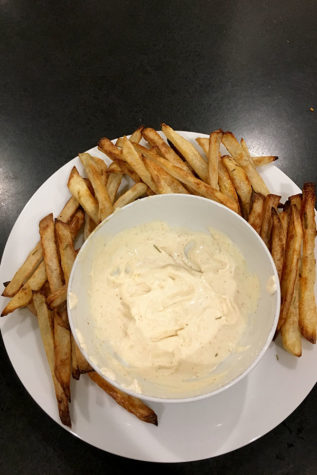 When paired with the dip, these fries are a tasty appetizer that have an added tanginess. (photo by Annie Simon)