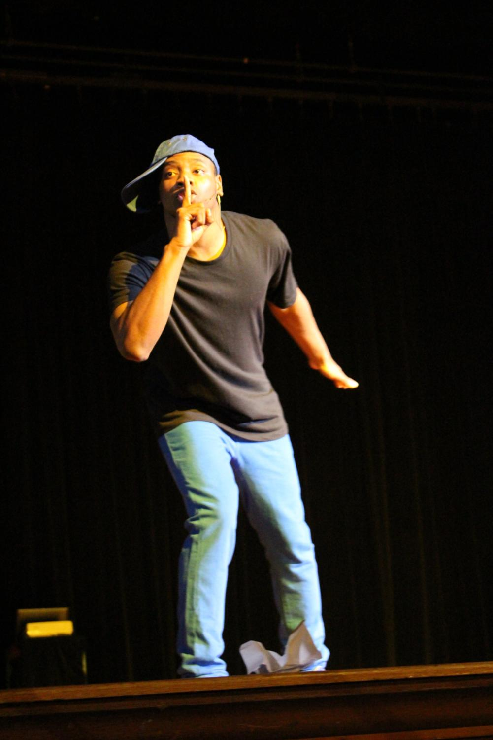 """You saw Jacob Cunningham, Chauncey Williams-Wesley, and Norel McAdoo star in """"Ricky v. June"""" in the Black History Program. You stood and applauded and just barely kept back the tears like everyone else. Now get ready for an exclusive look into their motivations and their feelings about the performance. (Photo by Annalise Novicky)"""
