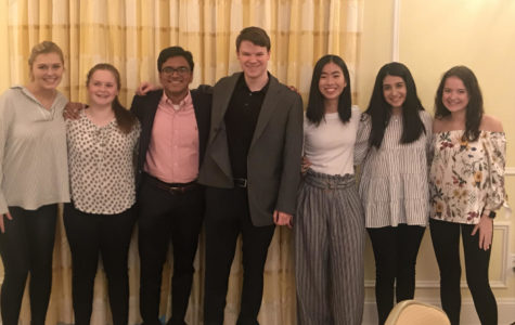 The ethics bowl team competed at the National High School Ethics Bowl this weekend at the University of North Carolina in Chapel Hill. They spent their weekend discussing complex moral issues such as confederate monuments and the Electoral College, with 24 other schools from 20 states. Ultimately they came in 9th place. (Photo courtesy of Lauren Berry)
