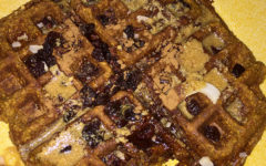 Vegan Pumpkin Waffles Satisfy Sweet Tooth Seasonally