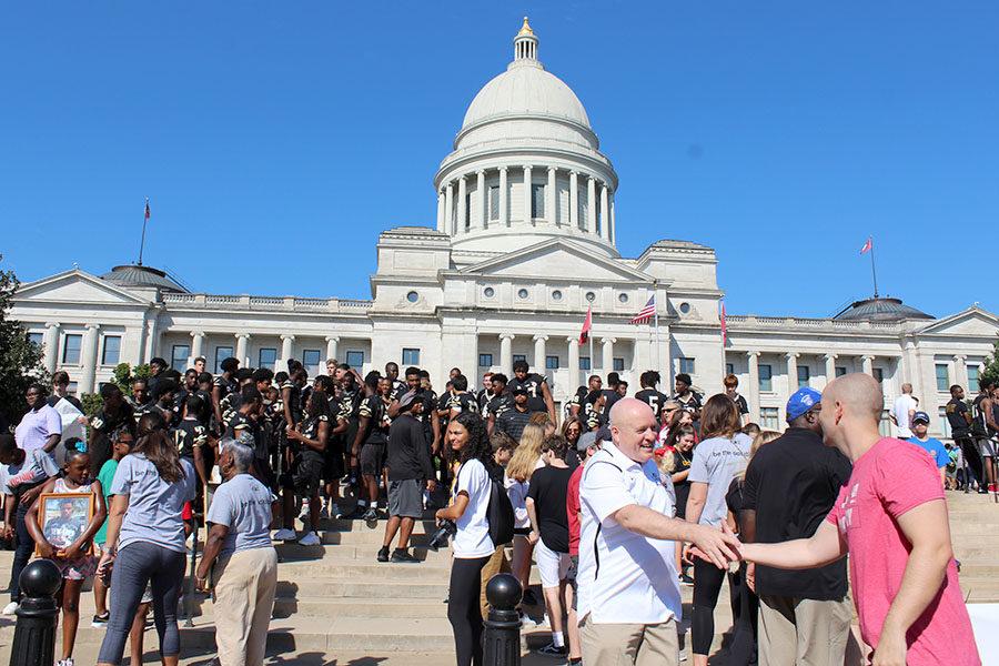 Victory Walk Unifies Community