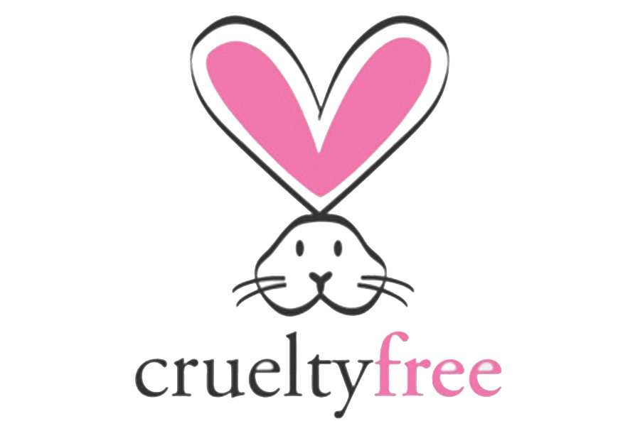 "Animal Lovin'. This adorable bunny can be found on many cruelty free products. "" The 'cruelty-free' brands on my lists don't test finished products or ingredients on animals at any point during production,"" Suzana Rose said, Founder of the Cruelty Free Kitty. Another logo found on many cruelty free products is the leaping bunny logo. ""[leaping bunny] seek to prevent future animal testing so companies must agree not to conduct any animal testing after a fixed cut-off date,"" according to the leaping bunny program. (photo courtesy of crueltyfreekitty)"