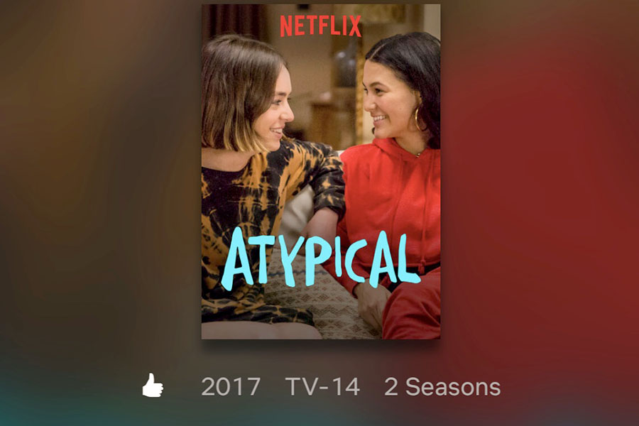 Netflix original movie Atypical features Sam Gardner (Keir Gilchrist) a high school student on the autism spectrum and the rest of the Gardner's as they navigate through Sam wanting to have more independence, including starting to date. (photo by Annie Fortune)