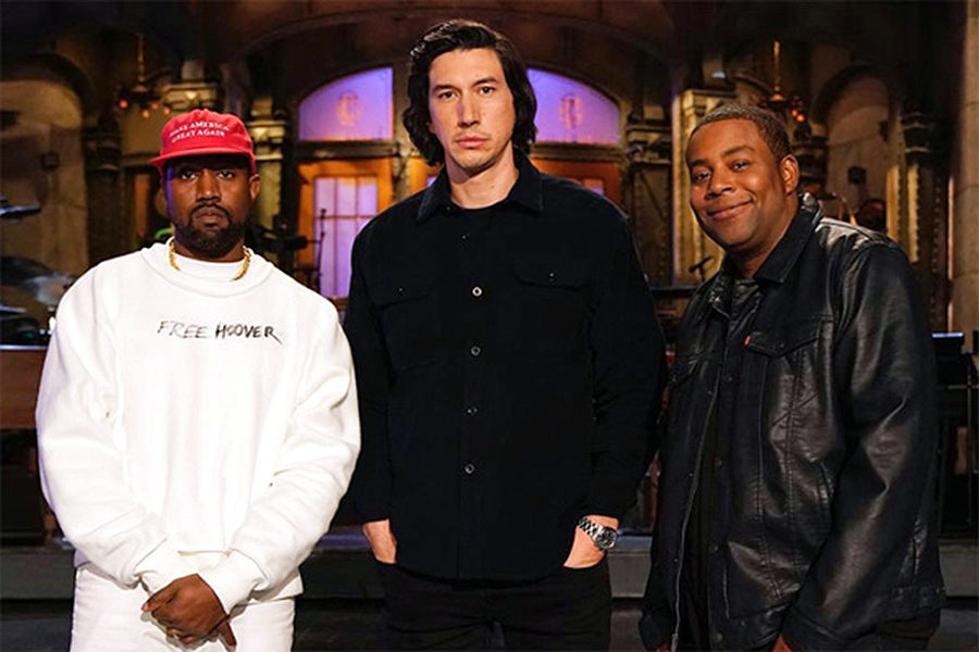 The+season+premiere+was+live+in+New+York+on+Saturday%2C+Sept.+29+and+was+hosted+by+actor+Adam+Driver+with+music+guest+Kanye+West.+%28photo+courtesy+of+SNL%29