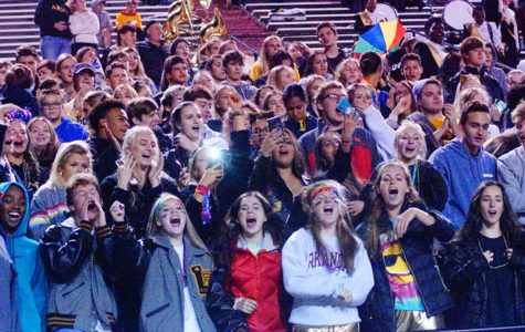 Students Show Pride Through Student Section