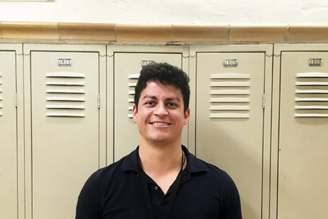 "Alejandro Fierro's teaching is infused with flavor and music. ""I love languages, and the connection they create in the world around us. Being able to pass on that same passion is very rewarding."" (photo by Brooke Elliott)"