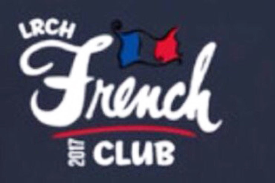 This is the french club logo from last year that the members collaborated on to design. This year, they will vote on a new design to put on sweatshirts that reflects the interests of new french club members as well. (photo courtesy of Julia Greenfield)