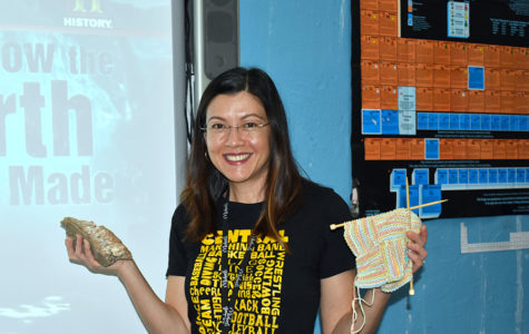 Physical Science Teacher Knits Her Way Into Students' Hearts