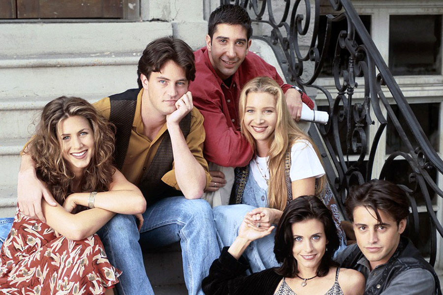 The rumor of Friends leaving Netflix was debunked on Dec. 3 by the company on Twitter. (Photo courtesy of People Magazine)