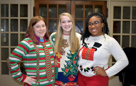 Students Express Holiday Spirit Through Sweaters