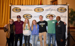 Seniors Sign for Athletic Career