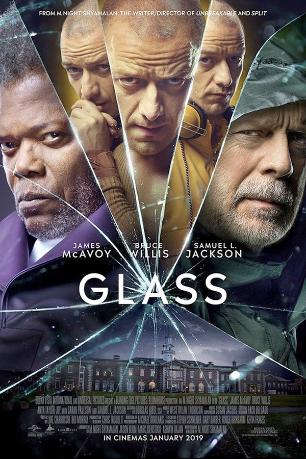 M. Night Shyamalan's newest movie, Glass, follows three superhumans, as they navigate through a mental institution filled with doctors trying to convince them that they really do not have superhuman abilities. (photo courtesy of IMDB)