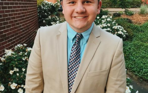 Ethan Dial accepts position as the Ouachita Baptist University student body President.