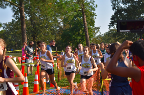 First Cross-Country Meet During COVID-19