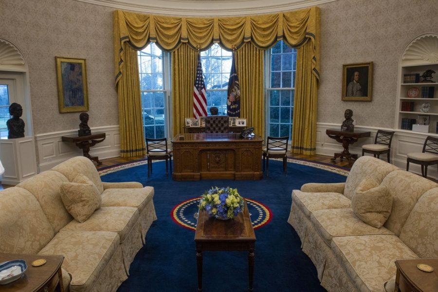 President Biden's Decor