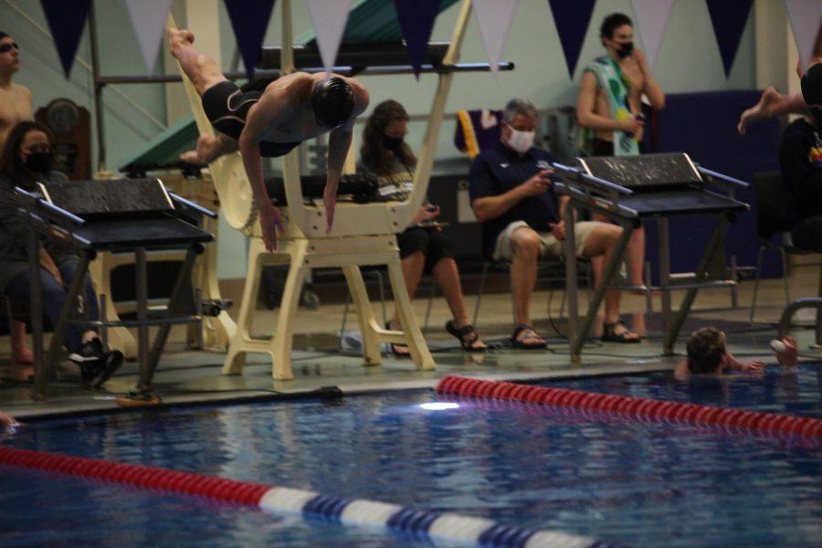 Boys Swim Well at Final Meet