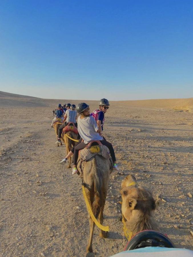 Rebecca Ivanovksy travels through Kfar Hanokdim, Israel with other members of her Jewish program, NFTY in Israel.